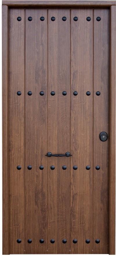Puerta residencial mod saga for Puertas rusticas exterior aluminio precios