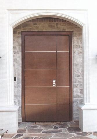 Puertas acorazadas - Puerta corredera doble hoja ...